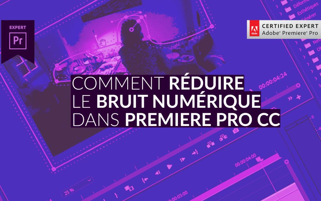 Formation La réduction du bruit avec Premiere Pro CC et After Effects